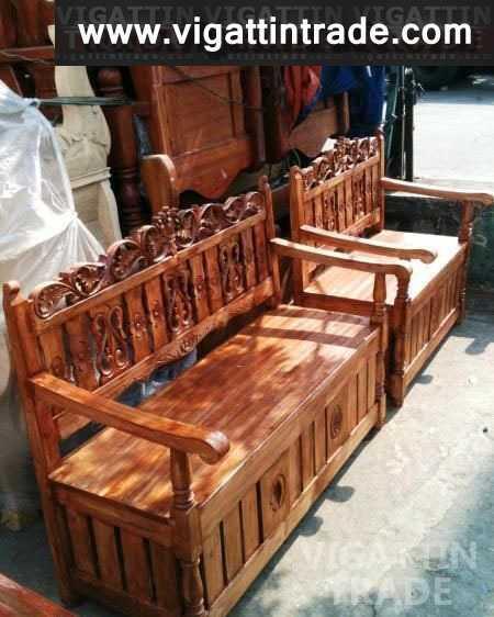 Brand new Solid Wood Sala Set model Iluminada Vigan - Vigattin Trade