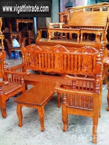 Brand new wood sala set galinera vigattin trade for Sala set for sale