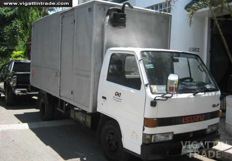 Truck For Rent >> 4 Rent New Isuzu Elf Closed Van Truck 14ftx6ftx6ft Only 2 500