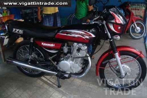 Kawasaki Barako 175 Red Ernie - Vigattin Trade