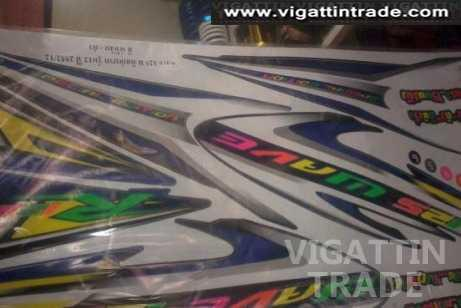 Honda Wave 125 Stickers - Vigattin Trade