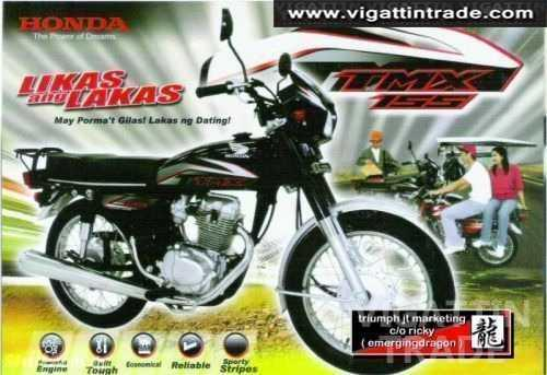 tmx155 honda motorcycle dealer tmx155 bnew only php3600 dp