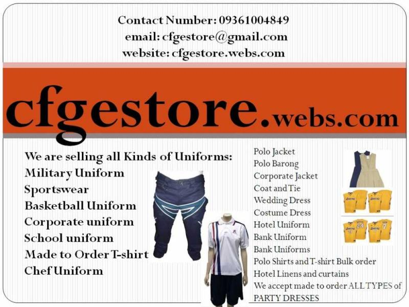 Made To Order Good Quality Clothes Office Uniforms In Las Pinas Vigattin Trade