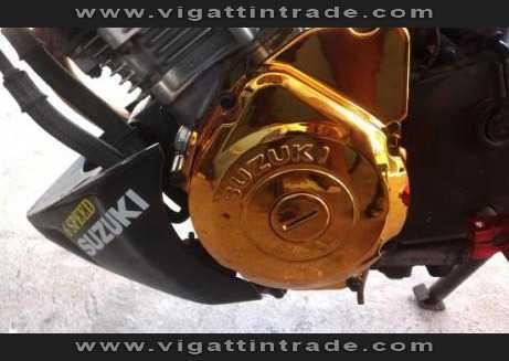 Raider 150 Crank Case (CHROME GOLD) - Vigattin Trade