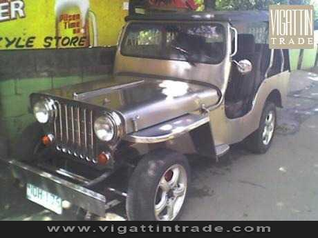 Owner type Jeep pure stainless Diesel Vigattin Trade