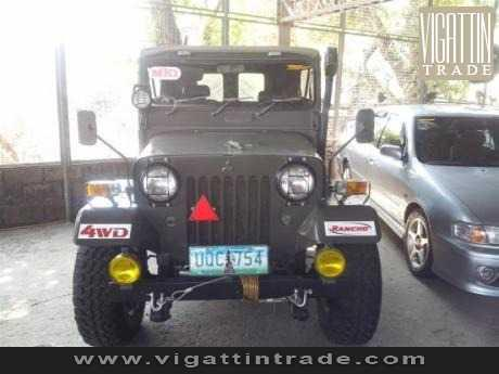 Japan Army Jeep 4DR6 4X4 For Sale - Vigattin Trade