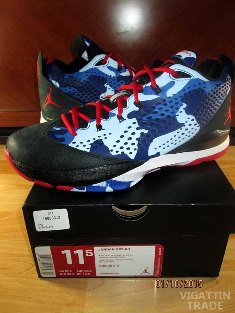 Jordan Cp3 7 La Clippers Camo Sizes 105 115 Limited Edition