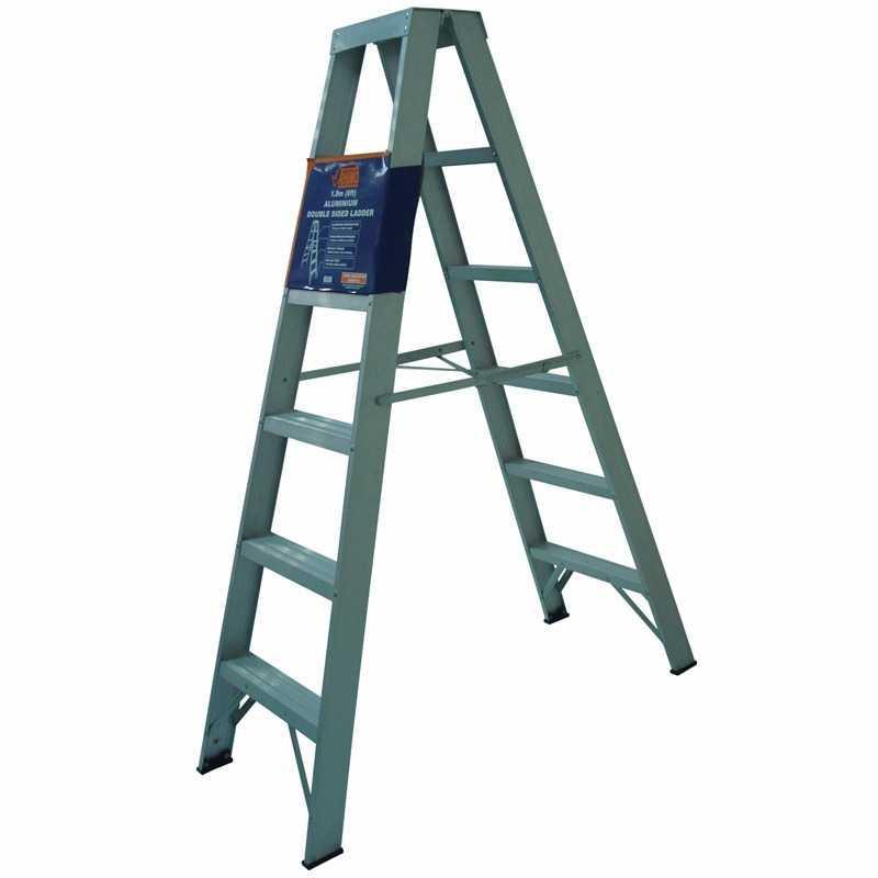 Alumminum Ladder Rhino Brand 7ft Extendable To 13ft