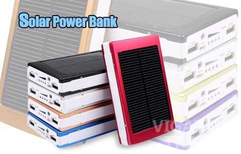 how to make a solar powered powerbank