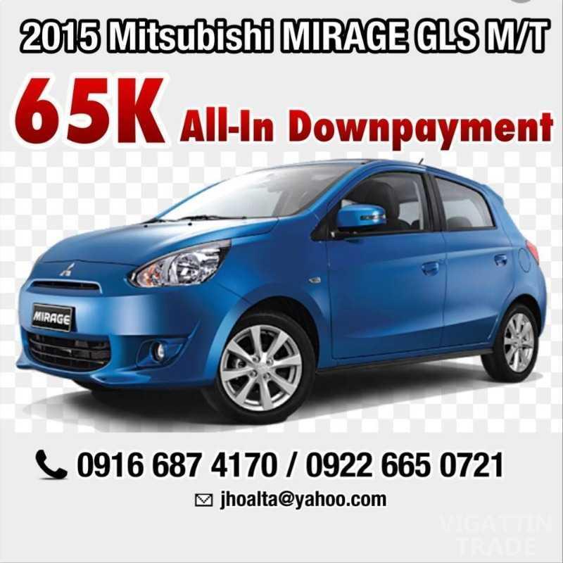 Brand New! 2015 Mitsubishi MIRAGE GLS 1.2L M/T (upgraded