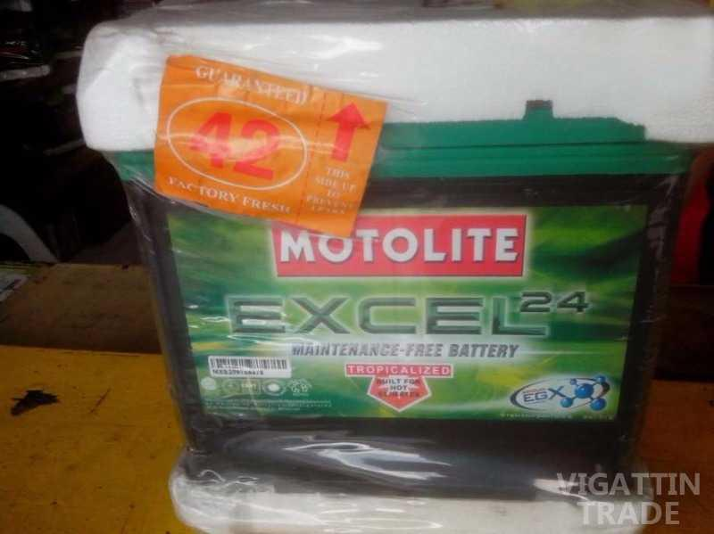 Car Battery Motolite Excel Vigattin Trade