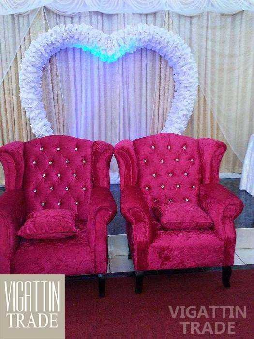 wedding couch or debutant chairs sale and rentals vigattin trade