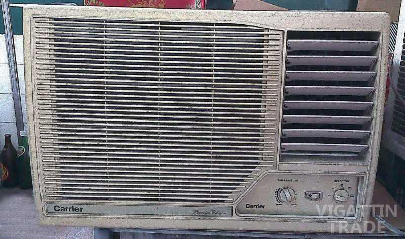 Carrier window type aircon super cold no repair 3yo for 2 5 hp window type aircon